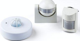 датчики движения включения света