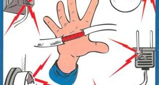 способы защиты от поражения электрическим током