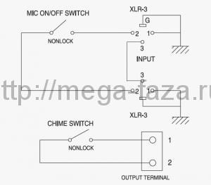 схема подключения контактов rms-01